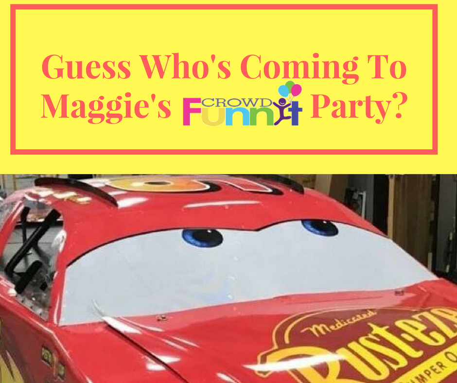 Guess Who's ComingTo Maggie's Party-